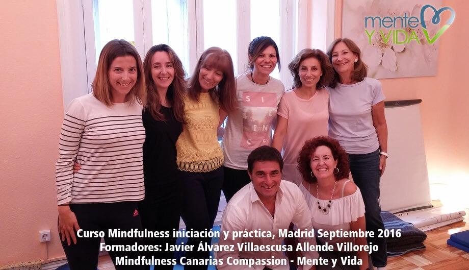 curso mindfulness iniciación y práctica