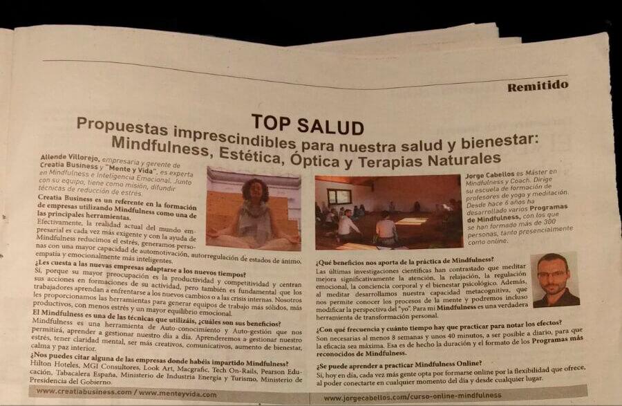 Entrevista A Allende Villorejo Del Periódico ABC