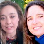 Olga Rojo y Paula Ferrer